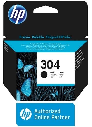 HP HP N9K06AE (304) SIYAH MUREKKEP KARTUSU 120 SAYFA Renkli